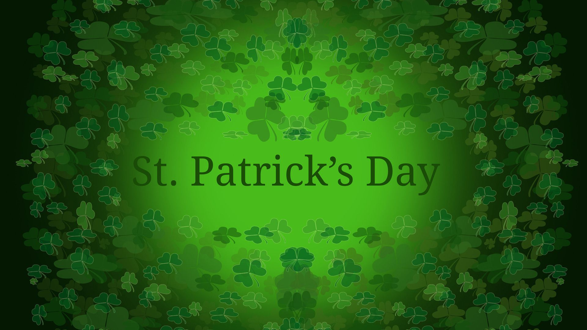 St Patricks Day Background Picture Image 1920x1080