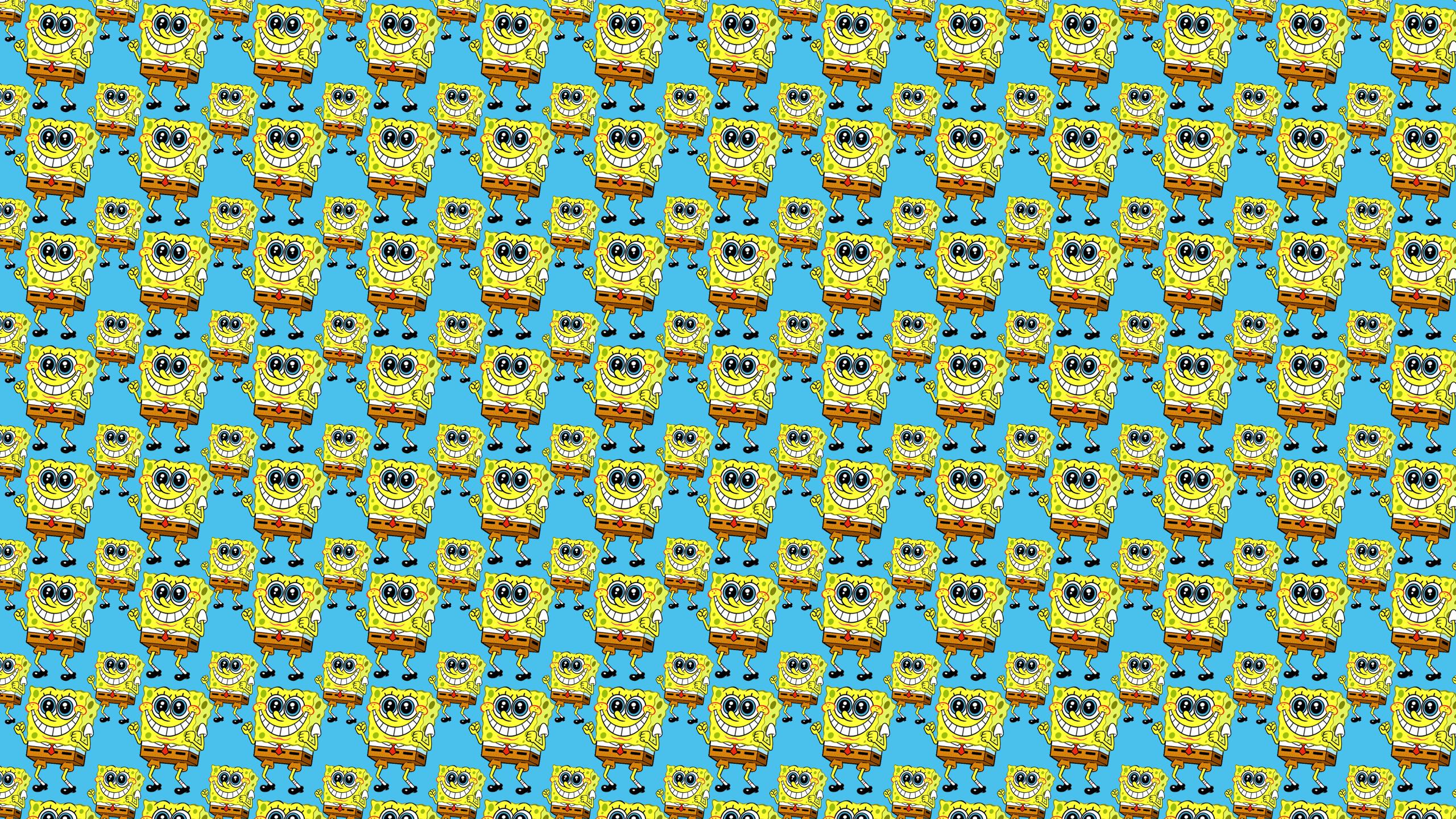 wallpaper installing this spongebob square pants desktop wallpaper is 2560x1440