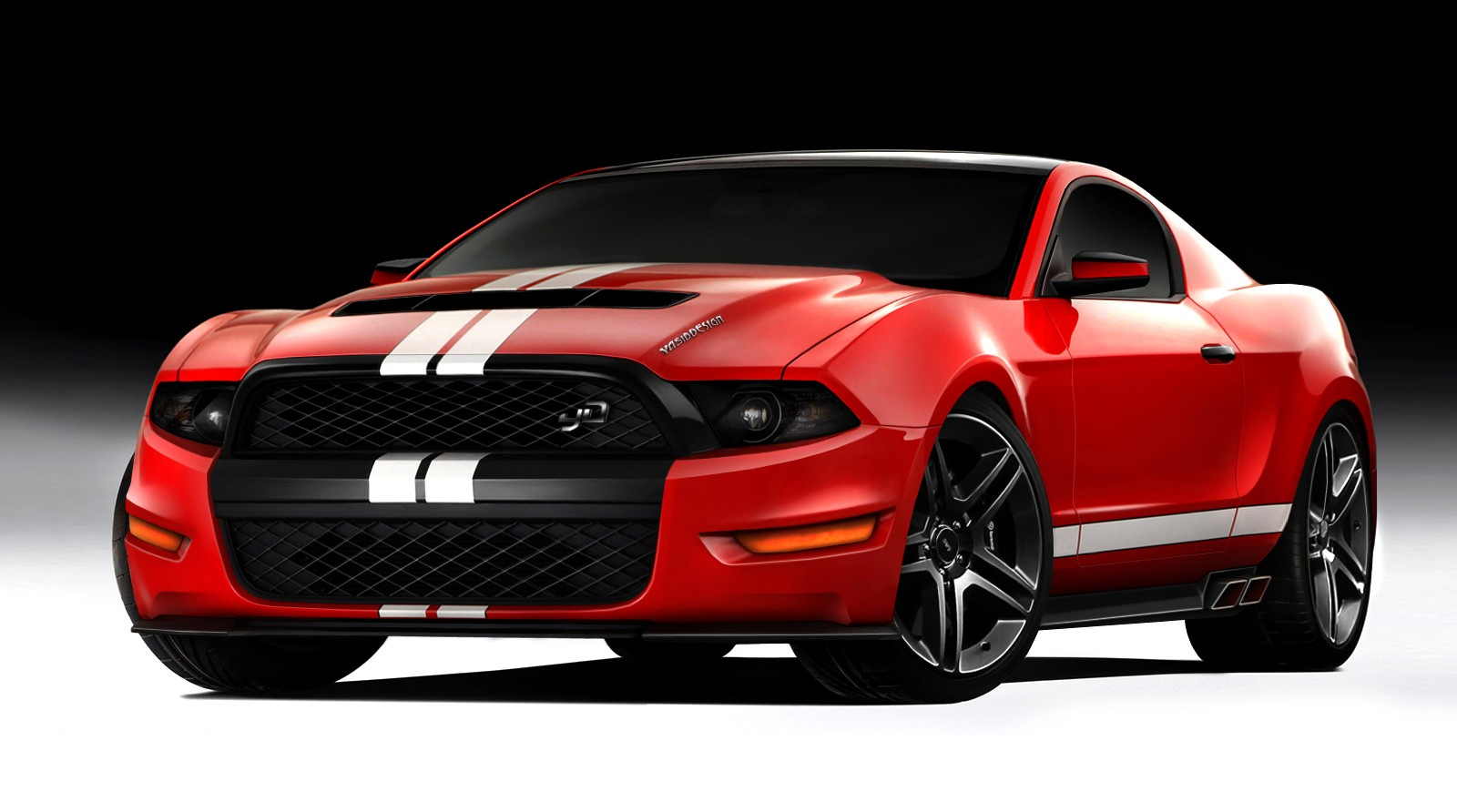 Wallpaper Ford Mustang Sports Car Wallpaper Hd Download Background 1600x892