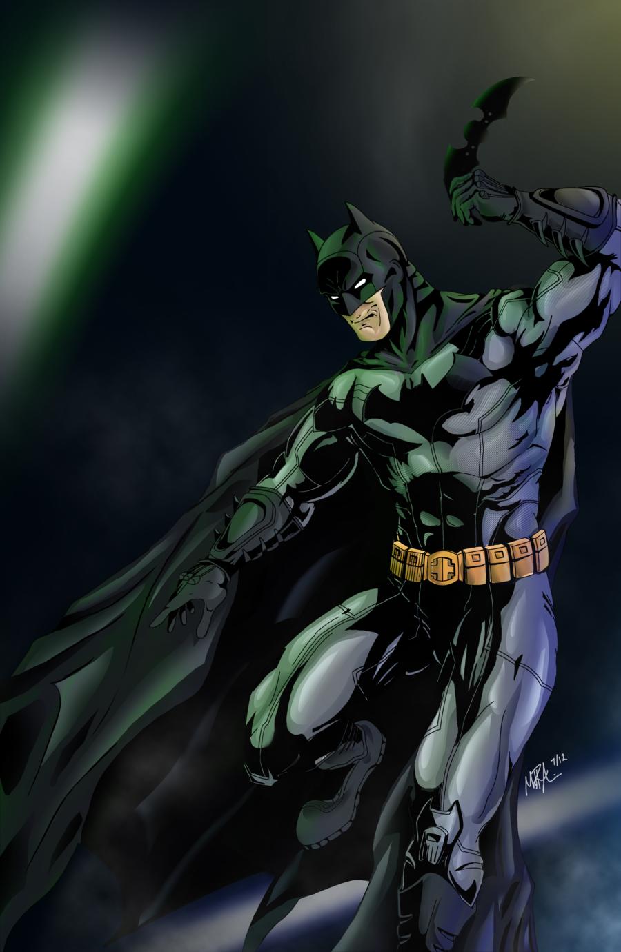 New 52 Batman Wallpaper - WallpaperSafari