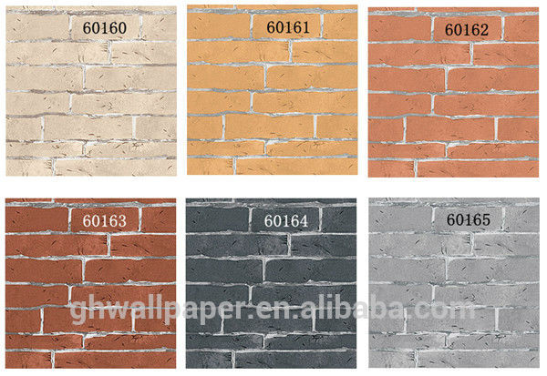Other modern brick wallpaper designs washable wallpaper for kitchen as 600x413
