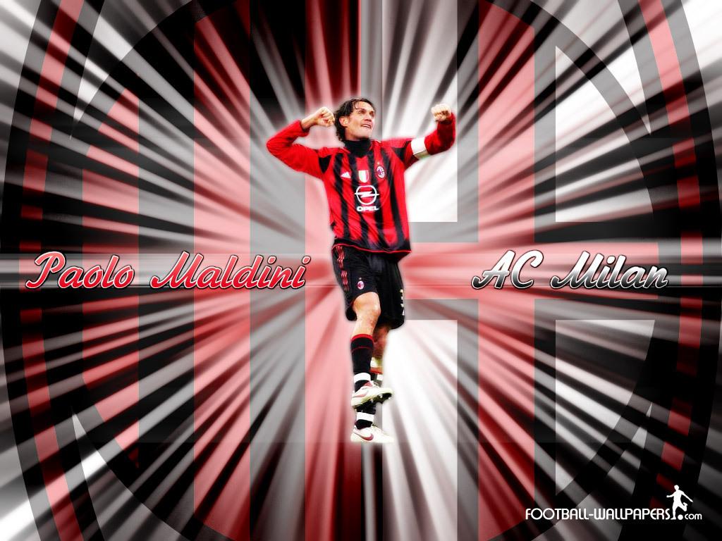 Maldini AC MIlan   Paolo Maldini Wallpaper 1306375 1024x768