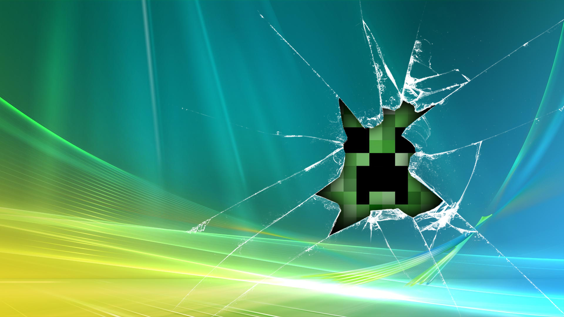 broken screen wallpaper 635385
