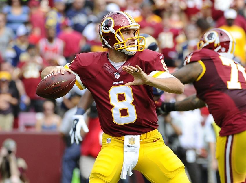 Sep 20 2015 Landover MD USA Washington Redskins quarterback Kirk 850x633