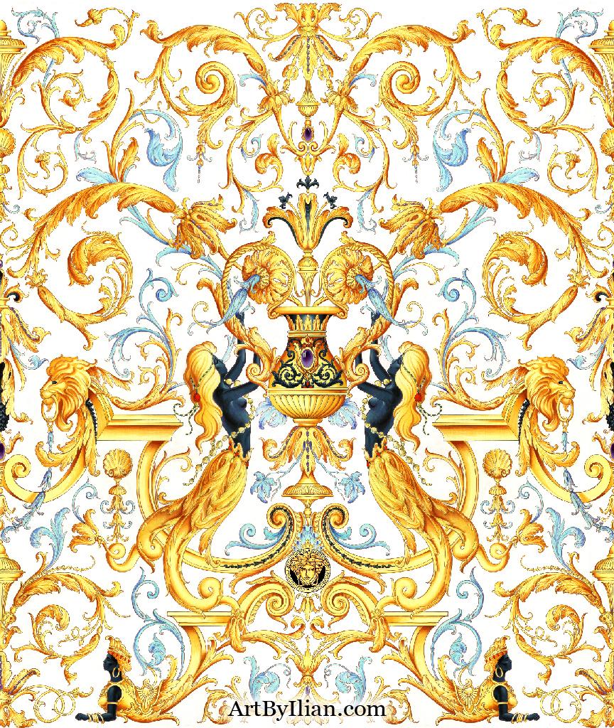 versace iphone wallpaper wallpapersafari