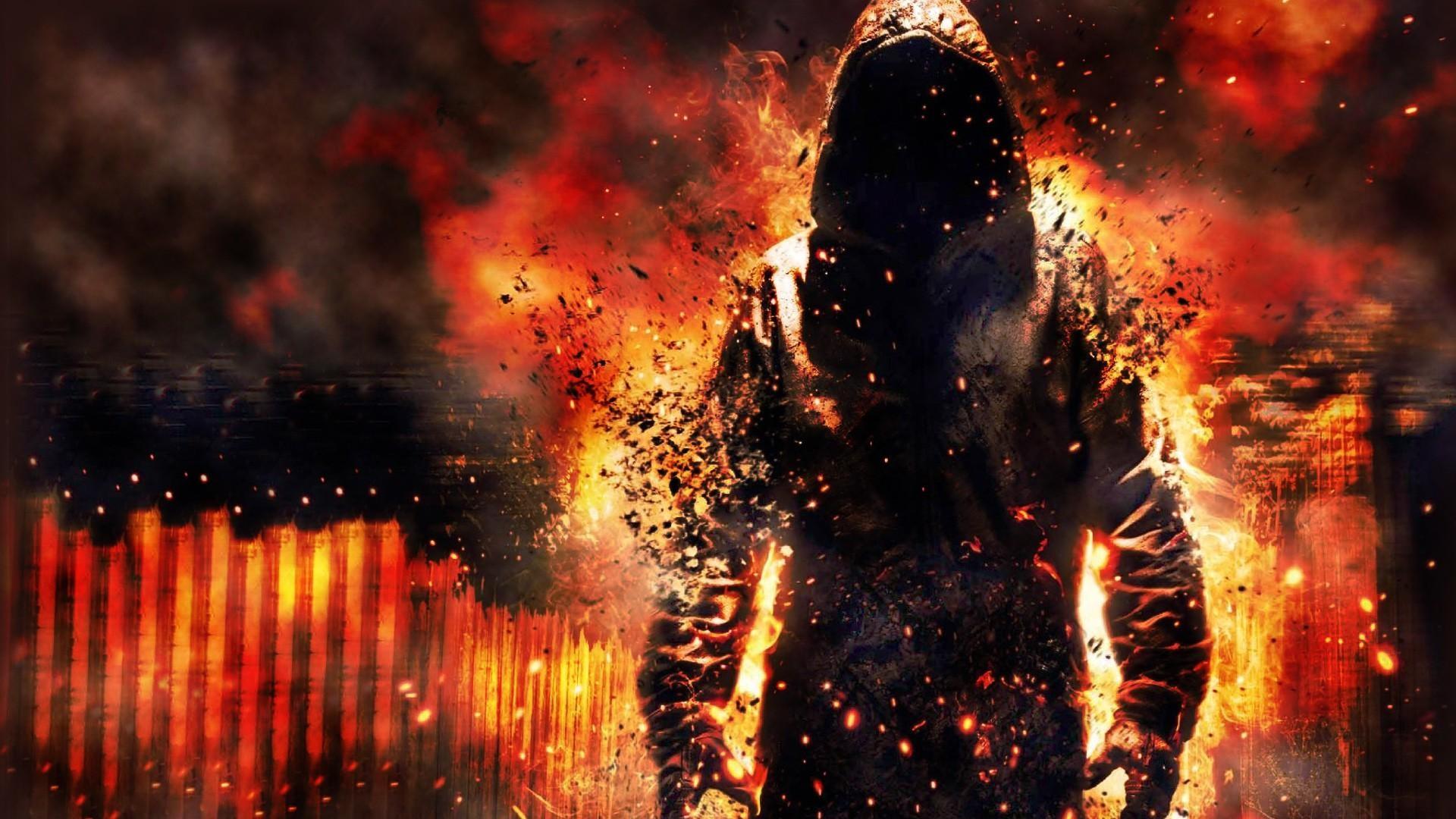 burning man[1920x1080] wallpaper 1920x1080