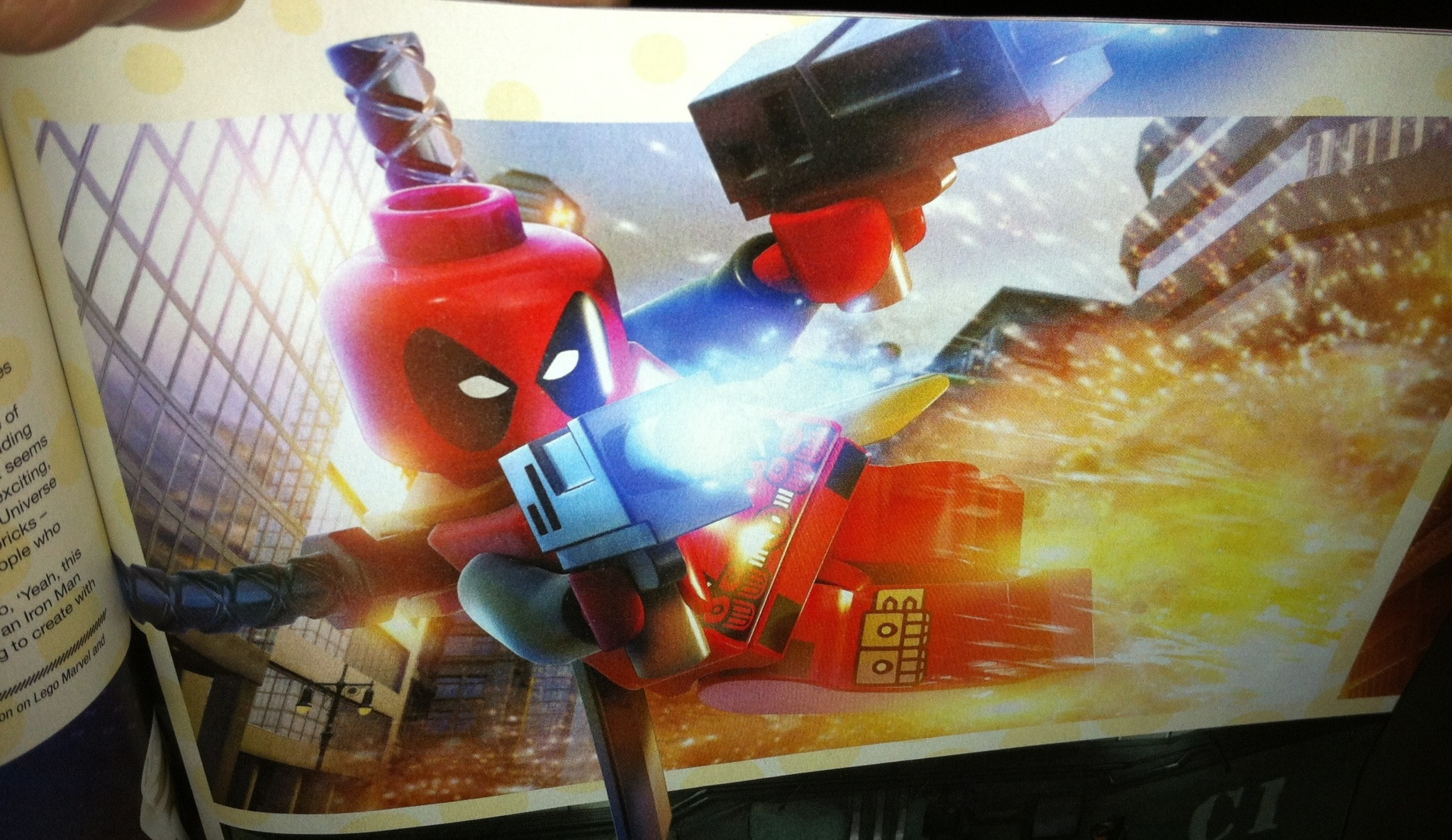 Lego Deadpool from Game Informer Issue 238 deadpool 2048x1186