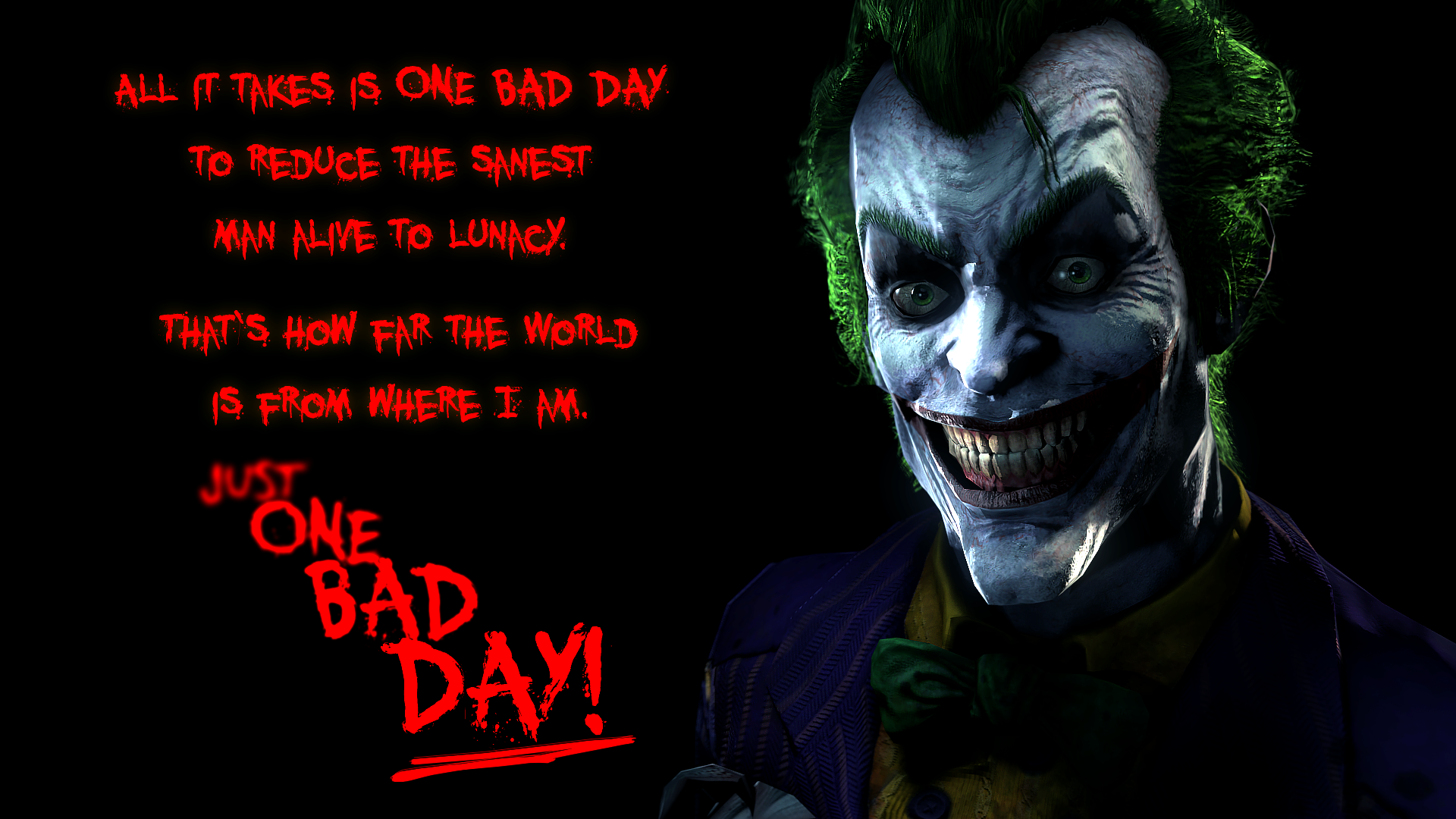 Joker Wallpaper The Bine 1920x1080