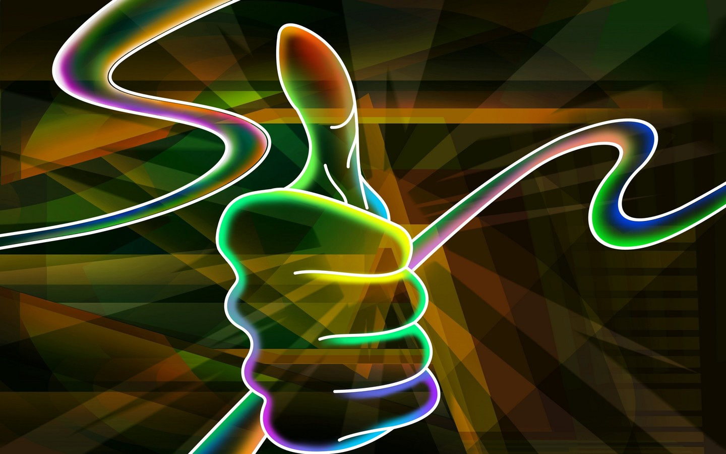 Cool Neon Dragon Backgrounds wallpaper Cool Neon Dragon Backgrounds 1440x900