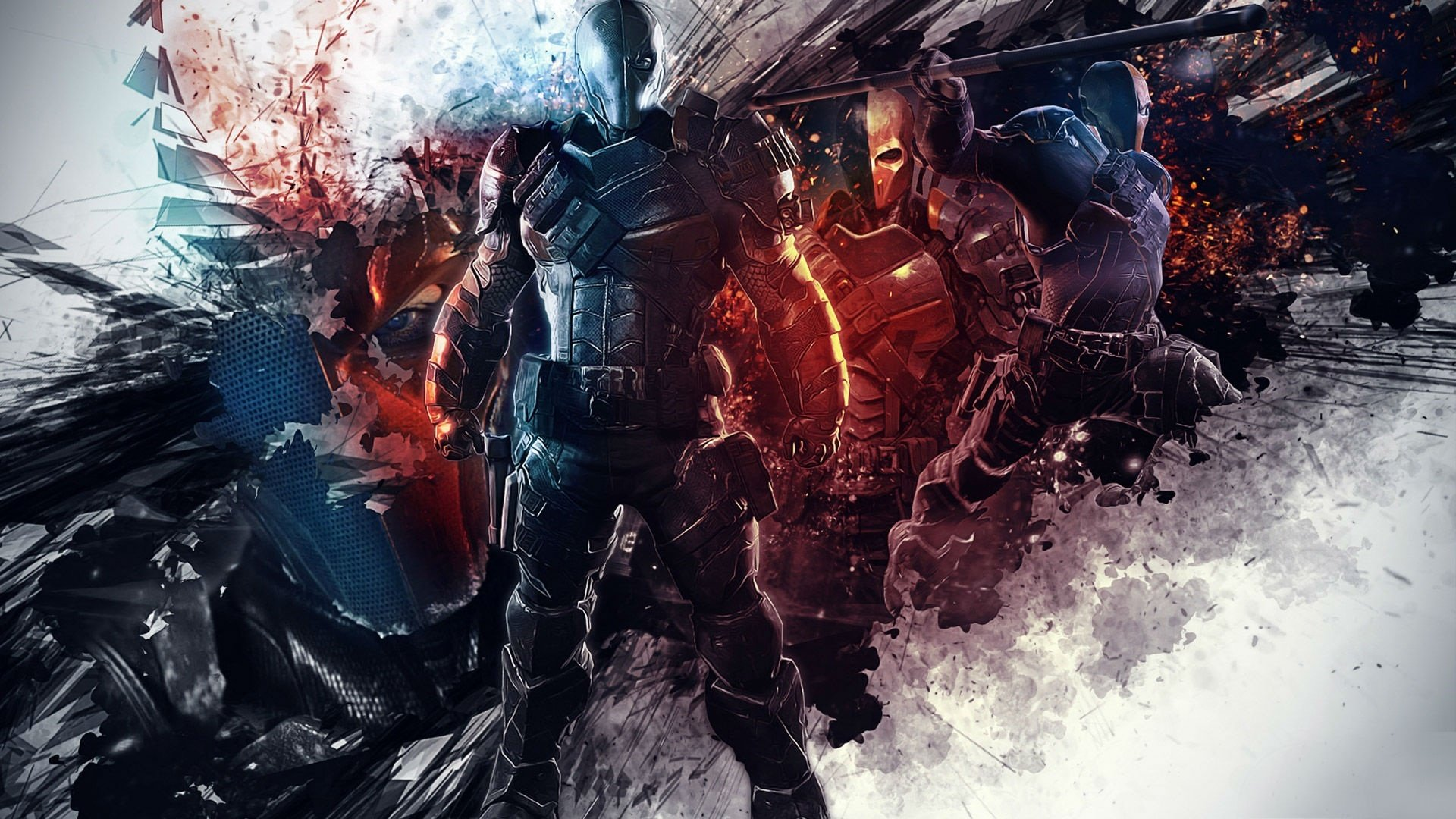 Batman Arkham Origins Deathstroke Wallpapers   1920x1080   712429 1920x1080