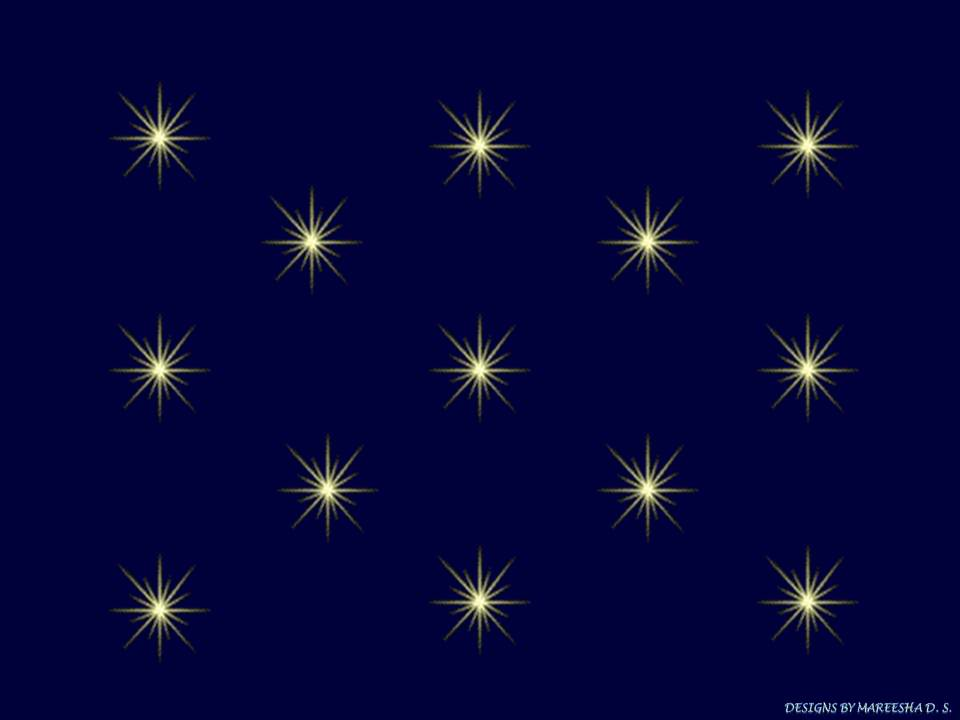 Starry Gold And Lighter Navy Blue Background Photo by mareeshastar 960x720
