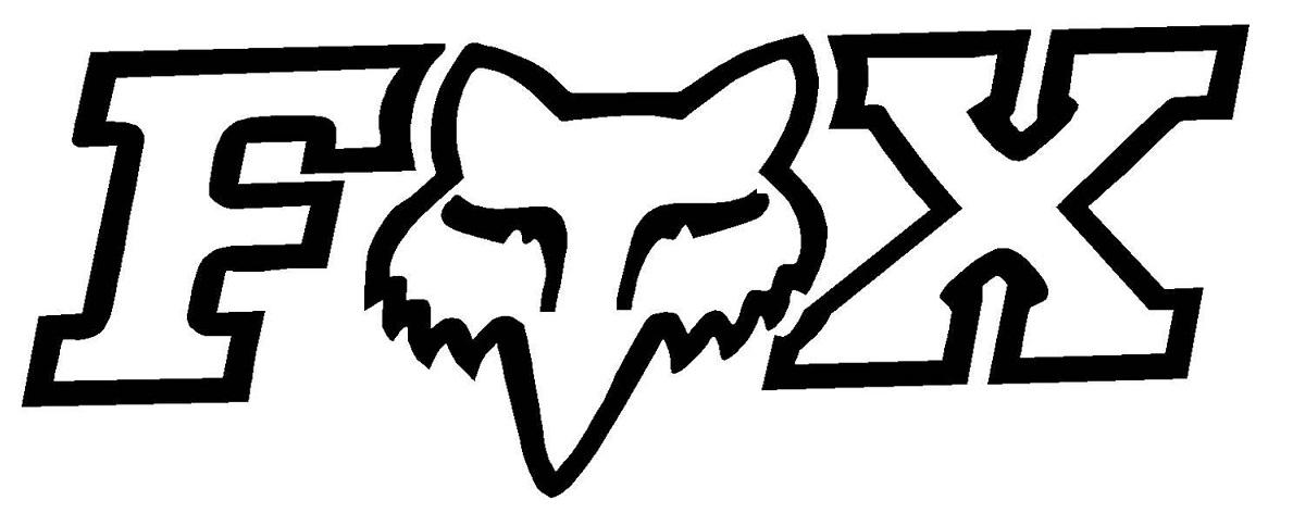 Fox Racing Symbol Logo Sign 1189x472