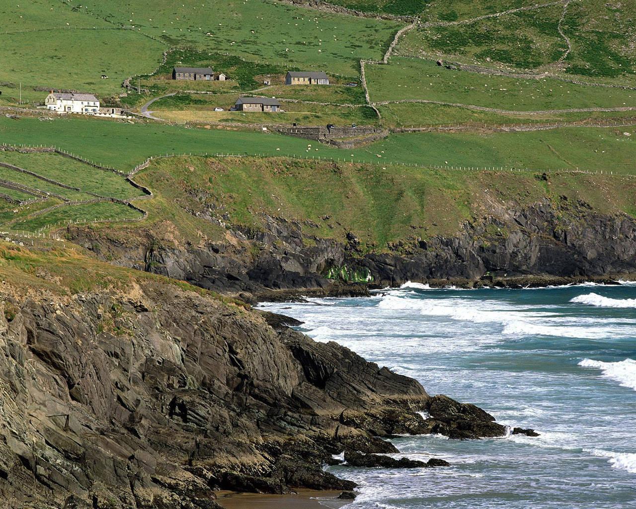 Irish scenery wallpaper