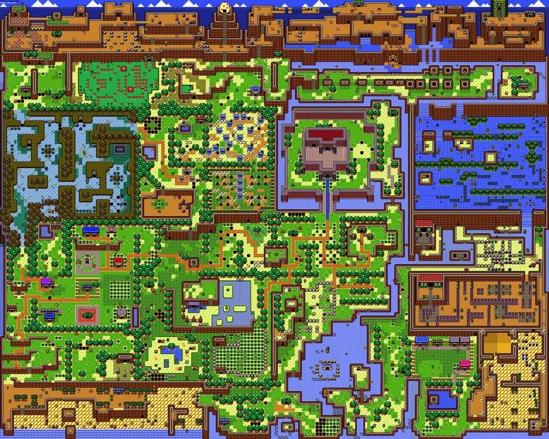 of zelda maps links awakening 1280x1024 wallpaper Video Games Zelda HD 800x640