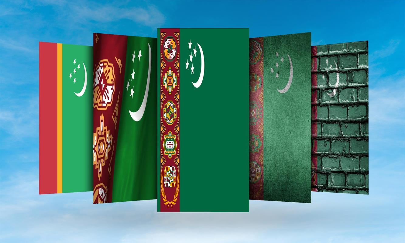 Turkmenistan Flag Wallpaper for Android   APK Download 1333x800