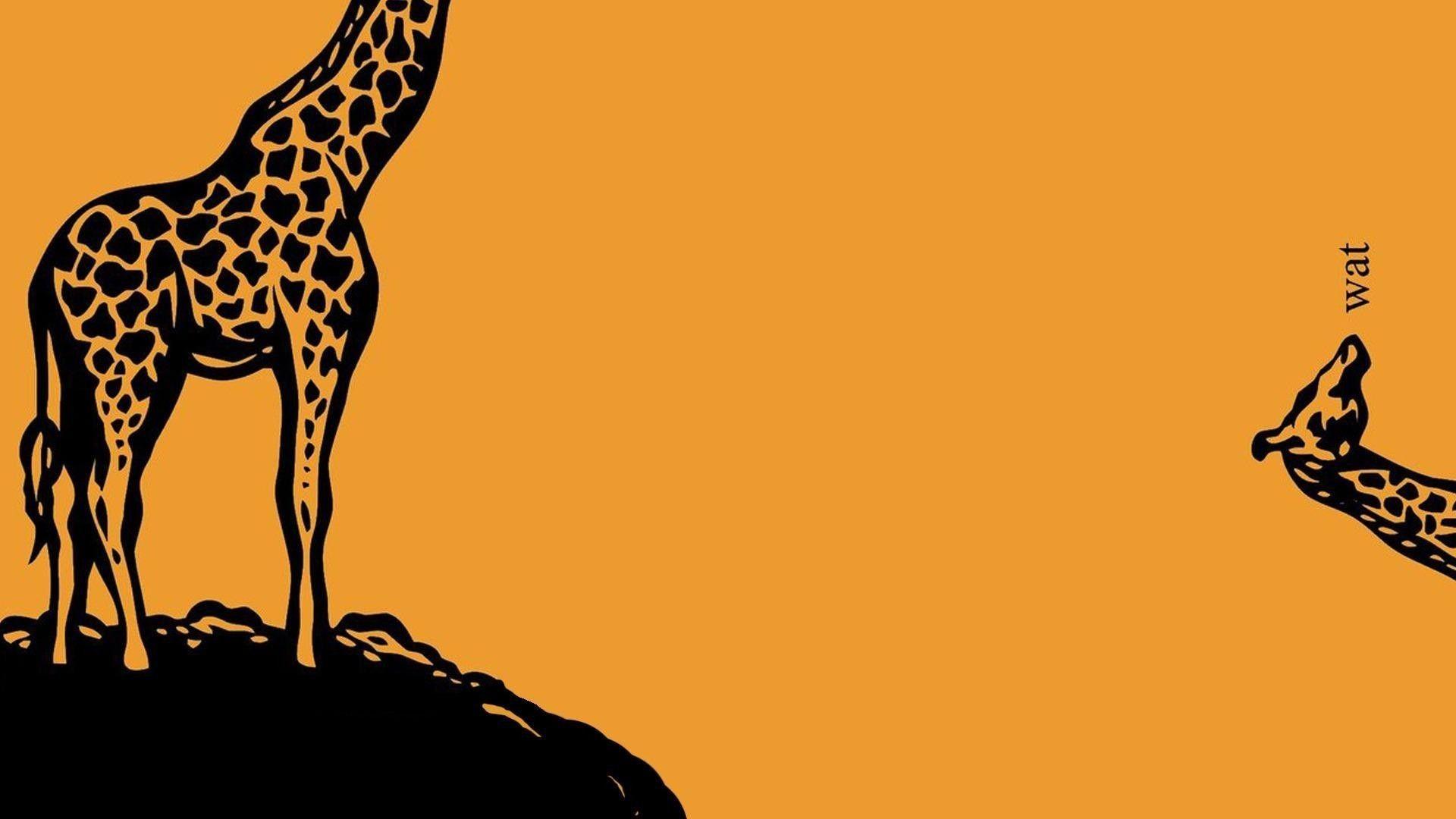 Giraffe Wallpaper Cartoon Made me laugh Pinterest Funny 1920x1080