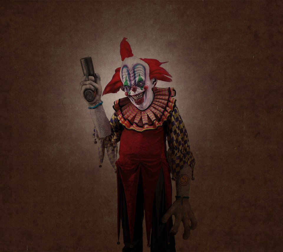Related Pictures scary clown hd widescreen wallpaper 960x854