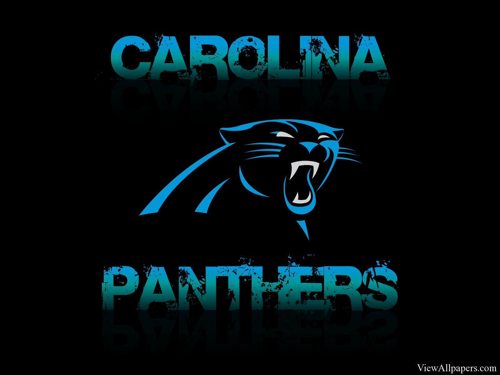 Carolina Panthers Logo HD Resolution download Carolina Panthers 1600x1200