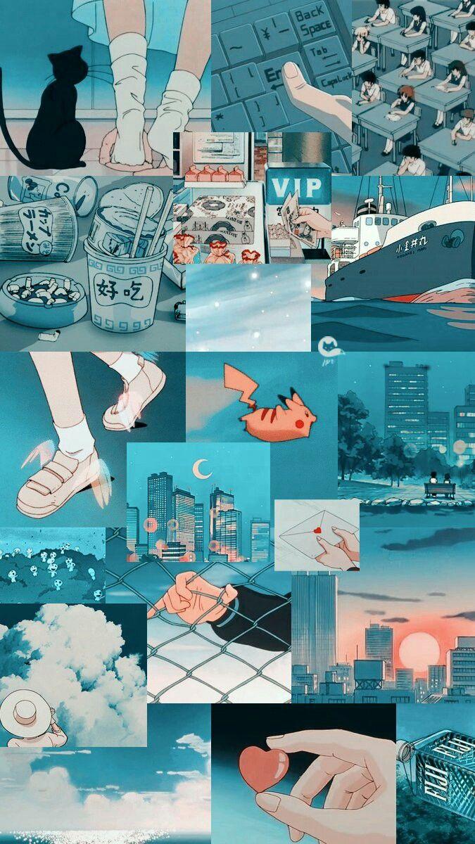 42 Aesthetic Wallpaper Anime On Wallpapersafari