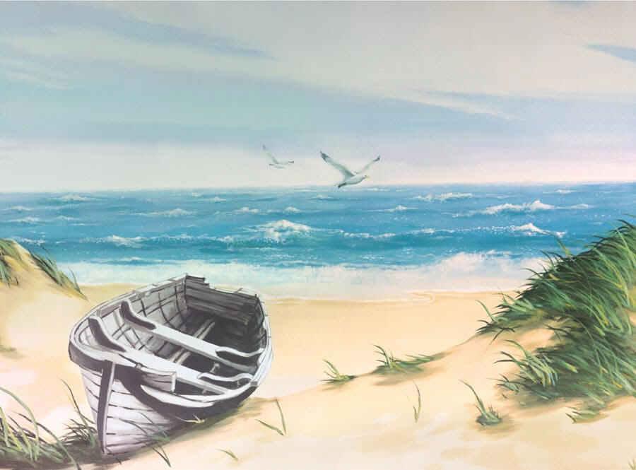 47 Beach Mural Wallpaper On Wallpapersafari