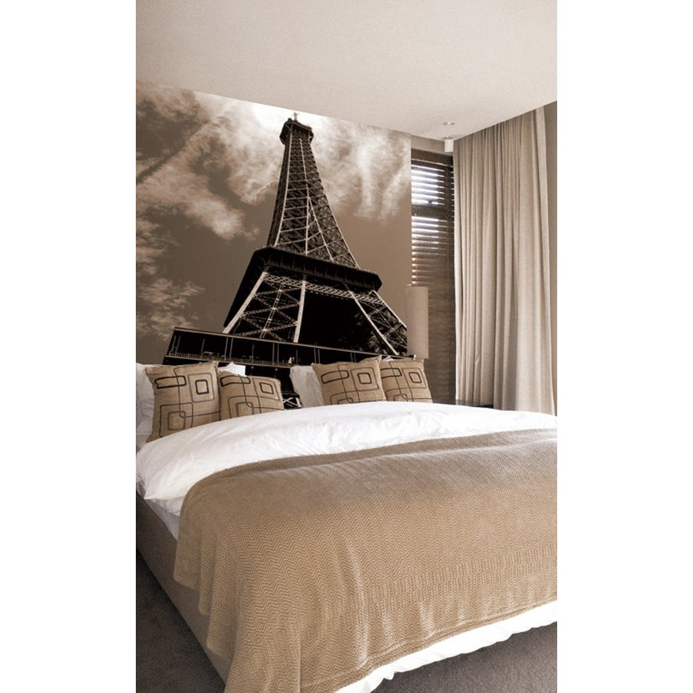 Eiffel Tower Wallpaper Mural WallpaperSafari