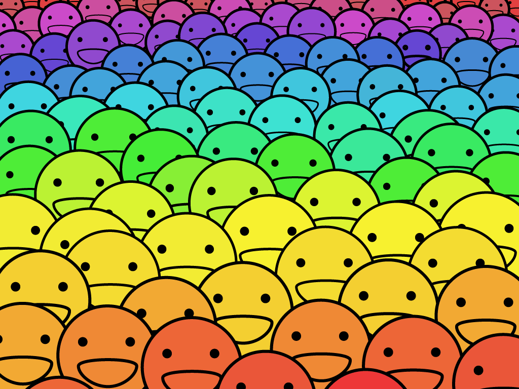Smiley Wallpapers 1024x768