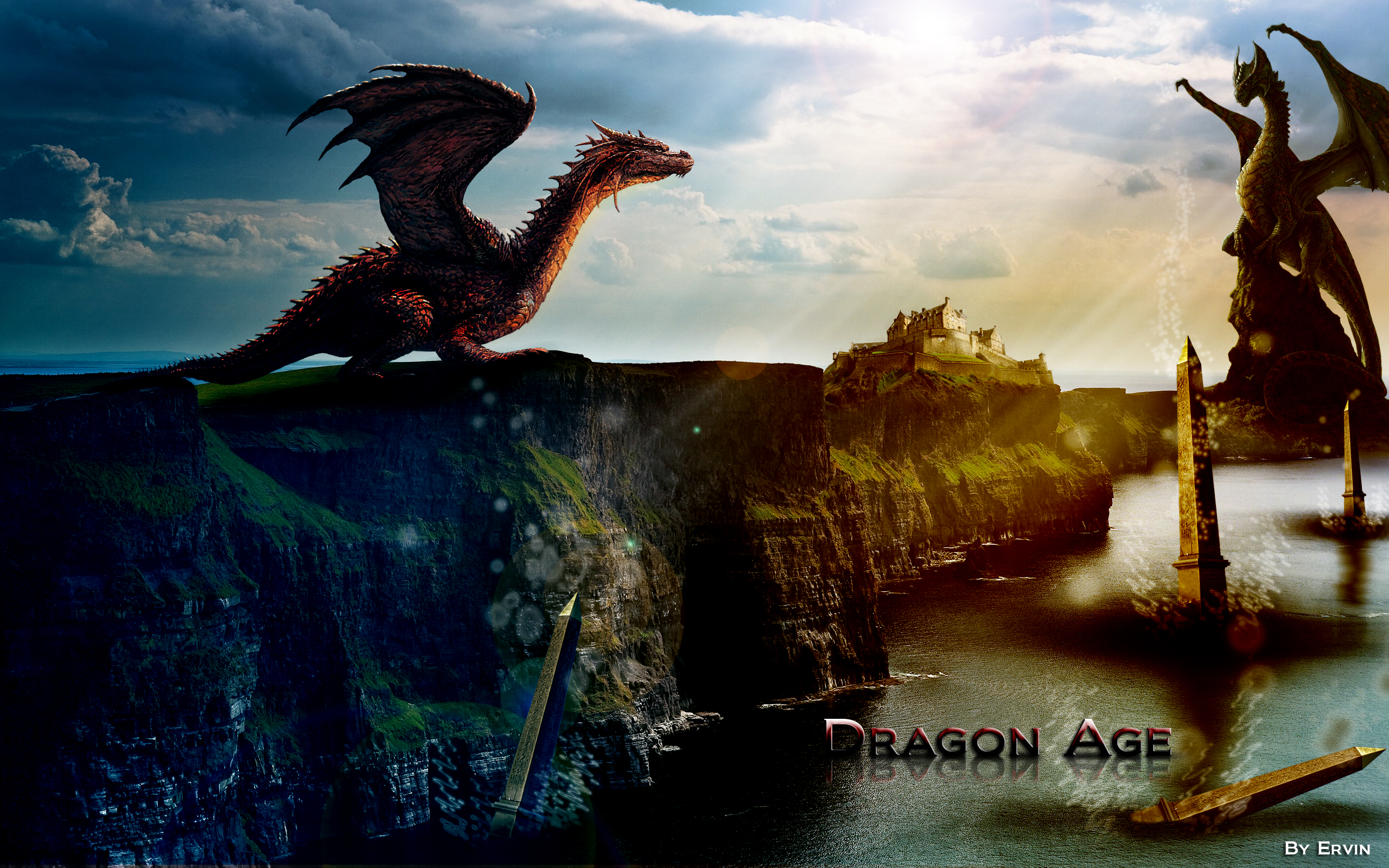 Free Download Dragon Age Hd Wallpapers 2560x1600 For Your