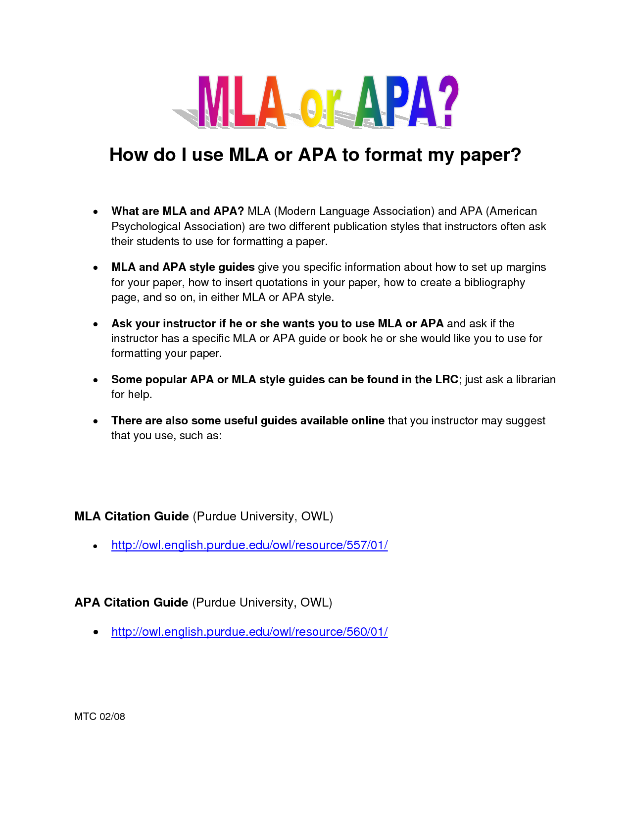 what is the difference between apa and mla format ecza productoseb co